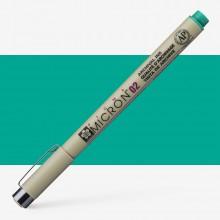 Sakura : Pigma : Micron Pen 02 : Green : 0.3 mm