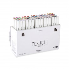 Shin Han : Touch Twin 60 BRUSH Marker Pen Set : A
