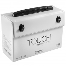 Shin Han : Empty Touch Twin 48 BRUSH Marker Pen Case (Excludes Marker Pens)