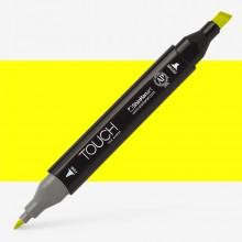 Shin Han : Touch Twin Marker Pen : Fluorescent Yellow : F123