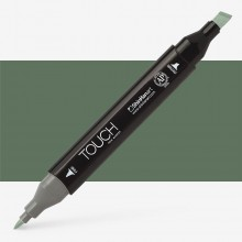 Shin Han : Touch Twin Marker Pen : Grayish Green Deep : G241