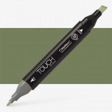 Shin Han : Touch Twin Marker Pen : Bronze Green : Y42