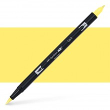 Tombow : Dual Tip Blendable Brush Pen : Pale Yellow