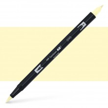 Tombow : Dual Tip Blendable Brush Pen : Baby Yellow