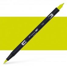 Tombow : Dual Tip Blendable Brush Pen : Chartreuse