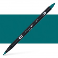 Tombow : Dual Tip Blendable Brush Pen : Dark Green