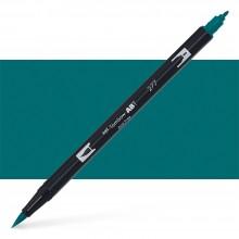 Tombow : Dual Tip Blendable Brush Pen : Dark Green