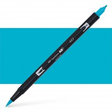 Tombow : Dual Tip Blendable Brush Pen : Turquoise