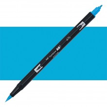Tombow : Dual Tip Blendable Brush Pen : Cyan