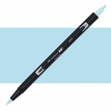 Tombow : Dual Tip Blendable Brush Pen : Glacier Blue