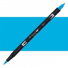 Tombow : Dual Tip Blendable Brush Pen : Light Blue