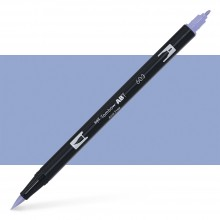 Tombow : Dual Tip Blendable Brush Pen : Periwinkle