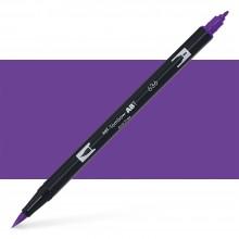 Tombow : Dual Tip Blendable Brush Pen : Imperial Purple