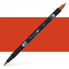 Tombow : Dual Tip Blendable Brush Pen : Burnt Sienna