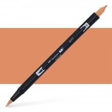 Tombow : Dual Tip Blendable Brush Pen : Saddle Brown