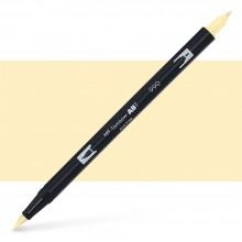 Tombow : Dual Tip Blendable Brush Pen : Light Sand