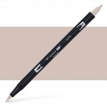 Tombow : Dual Tip Blendable Brush Pen : Warm Gray 2