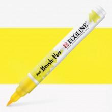 Royal Talens : Ecoline : Watercolour Brush Pen : Lemon Yellow