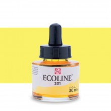 Talens : Ecoline : Liquid Watercolour Ink : 30ml : Light Yellow