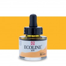Royal Talens : Ecoline : Liquid Watercolour Ink : 30ml : Gold Ochre