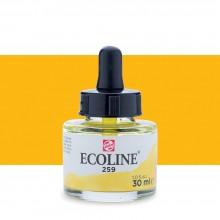 Royal Talens : Ecoline : Liquid Watercolour Ink : 30ml : Sand Yellow