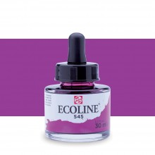 Royal Talens : Ecoline : Liquid Watercolour Ink : 30ml : Red Violet