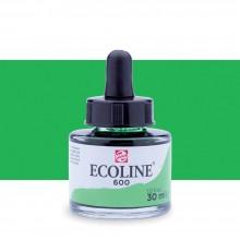 Royal Talens : Ecoline : Liquid Watercolour Ink : 30ml : Green