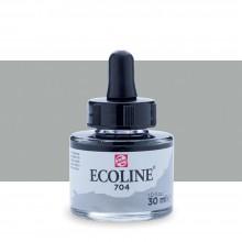 Royal Talens : Ecoline : Liquid Watercolour Ink : 30ml : Grey