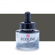 Royal Talens : Ecoline : Liquid Watercolour Ink : 30ml : Cold Grey