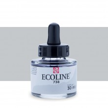 Royal Talens : Ecoline : Liquid Watercolour Ink : 30ml : Cold Grey Light