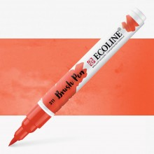 Royal Talens : Ecoline : Watercolour Brush Pen : Vermilion
