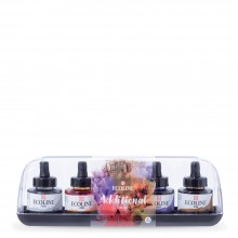 Royal Talens : Ecoline : Liquid Watercolour Ink : 30ml : Additional Set of 5