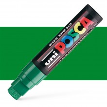 Uni : Posca Marker : PC-17K : Extra Broad Chisel Tip : 15mm : Green