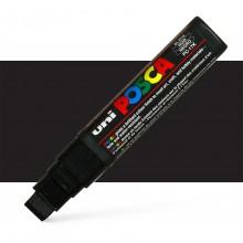 Uni : Posca Marker : PC-17K : Extra Broad Chisel Tip : 15mm : Black
