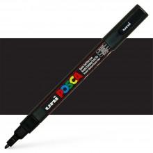 Uni : Posca Marker : PC-3M : Fine Bullet Tip : 0.9 - 1.3mm : Black