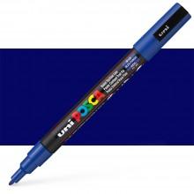 Uni : Posca Marker : PC-3M : Fine Bullet Tip : 0.9 - 1.3mm : Blue