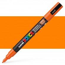Uni : Posca Marker : PC-3M : Fine Bullet Tip : 0.9 - 1.3mm : Orange