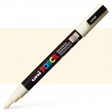 Uni : Posca Marker : PC-3M : Fine Bullet Tip : 0.9 - 1.3mm : Ivory