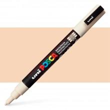 Uni : Posca Marker : PC-3M : Fine Bullet Tip : 0.9 - 1.3mm : Beige