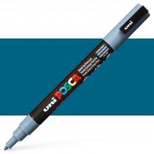 Uni : Posca Marker : PC-3M : Fine Bullet Tip : 0.9 - 1.3mm : Slate Grey
