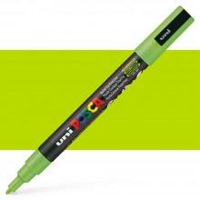 Uni : Posca Marker : PC-3M : Fine Bullet Tip : 0.9 - 1.3mm : Apple Green