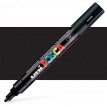 Uni : Posca Marker : PC-5M : Medium Bullet Tip : 1.8 - 2.5mm : Black