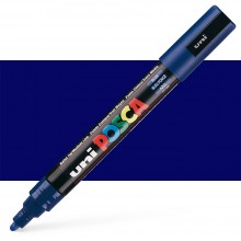 Uni : Posca Marker : PC-5M : Medium Bullet Tip : 1.8 - 2.5mm : Blue