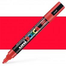 Uni : Posca Marker : PC-5M : Medium Bullet Tip : 1.8 - 2.5mm : Red