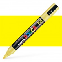 Uni : Posca Marker : PC-5M : Medium Bullet Tip : 1.8 - 2.5mm : Yellow