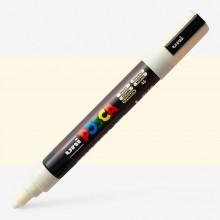 Uni : Posca Marker : PC-5M : Medium Bullet Tip : 1.8 - 2.5mm : Ivory