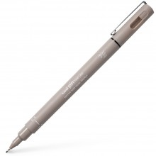 Uni : Pin Waterproof Lightfast Drawing Pen : Light Grey : 0.5mm