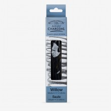 Winsor & Newton : Willow Charcoal : Medium : 12+ Pieces Per Pack
