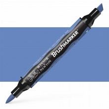 Winsor & Newton : Brush Marker : China Blue