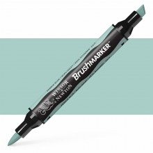 Winsor & Newton : Brush (Pro)Marker : Pebble Blue